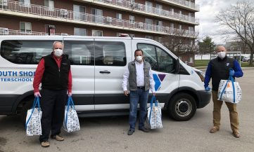South Shore Y Delivering Meals to Seniors