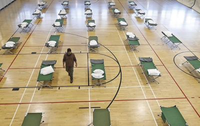QUINCY YMCA father bills homeless shelter