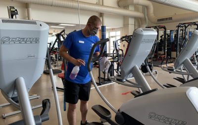 South Shore YMCA Reopens Cleaning